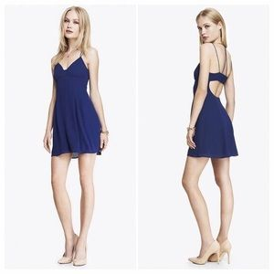 Express strappy open back dress